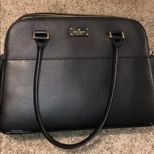 Black Kate Spade purse only used a few times